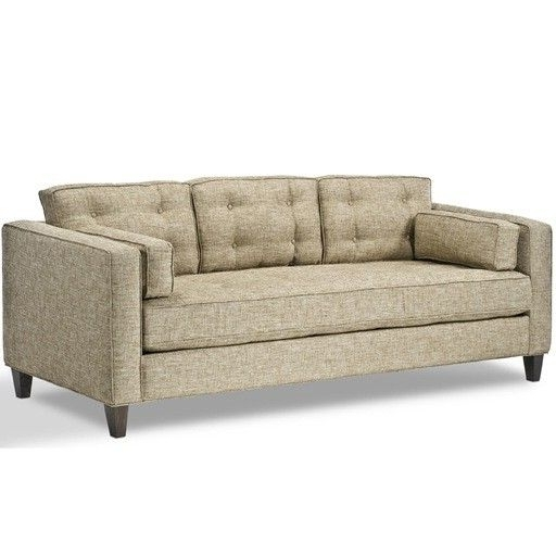One Cushion Couch Single Cushion Chair Long Cream Comfortable With Regard To Most Up To Date One Cushion Sofas (View 9 of 10)