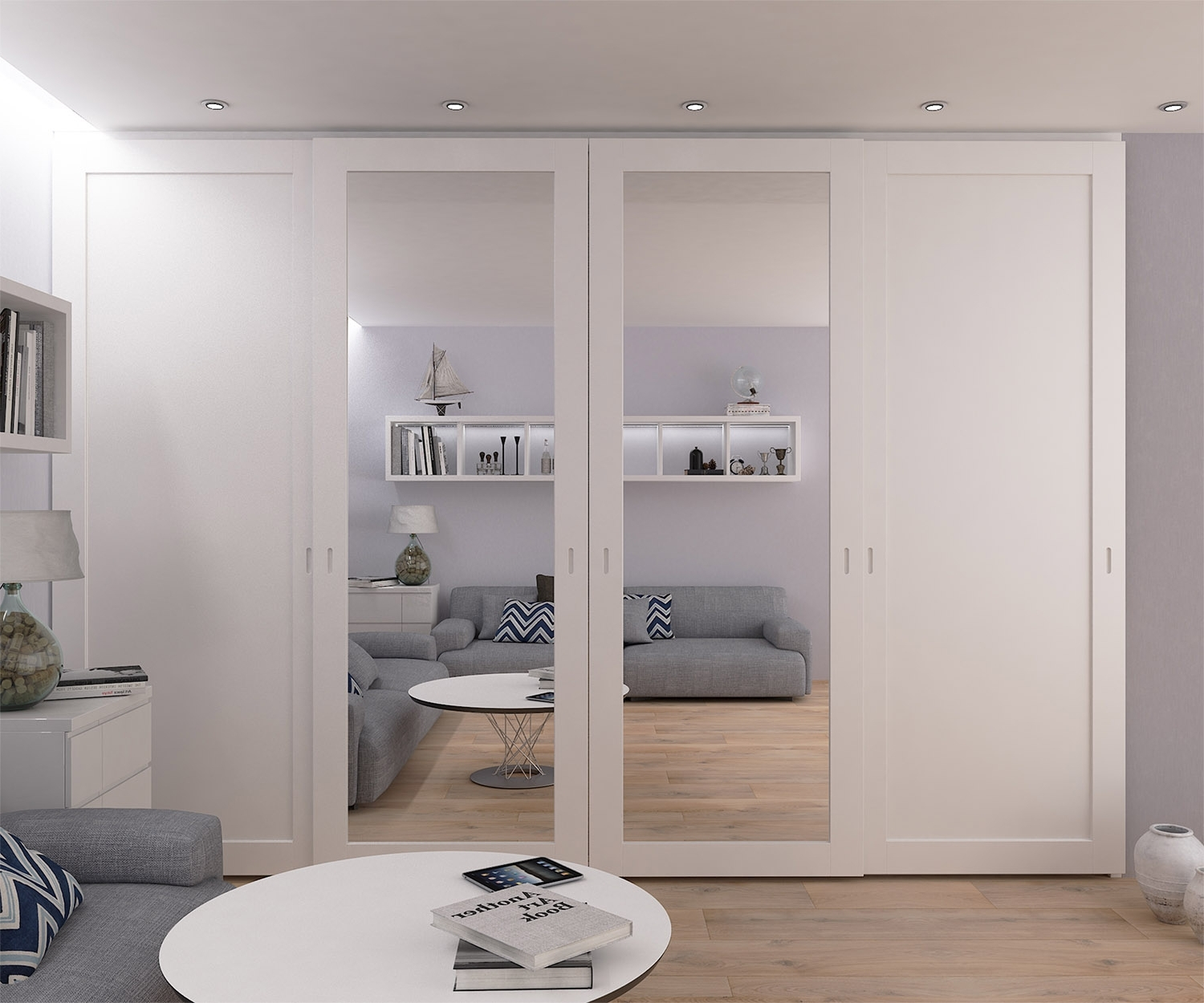 One Door Mirrored Wardrobes Pertaining To Most Recently Released Sliding Door Wardrobes, Fitted Mirrored Solutions London (Gallery 12 of 15)