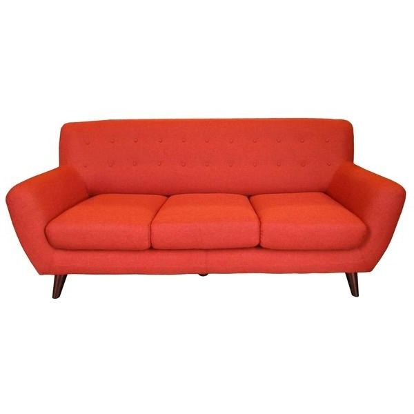 Orange Modern Sofa Sofa In Orange Orange County Modern Sofa Regarding Most Up To Date Orange County Sofas (View 7 of 10)