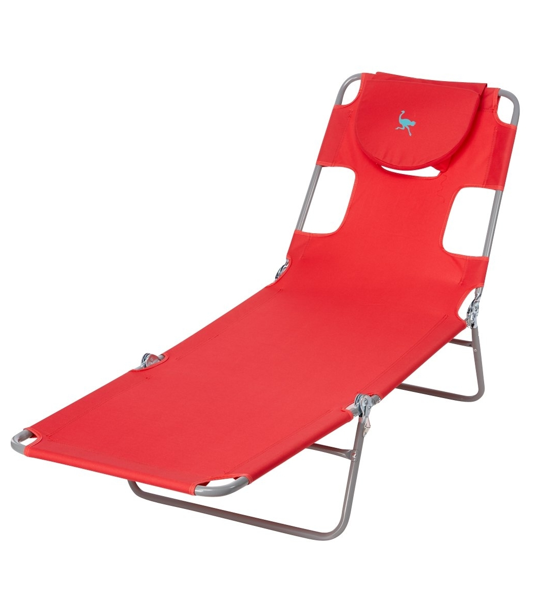 Ostrich Face Down Chaise Lounge At Swimoutlet – Free Shipping Intended For Latest Lounge Chaise Chair By Ostrich (View 6 of 15)