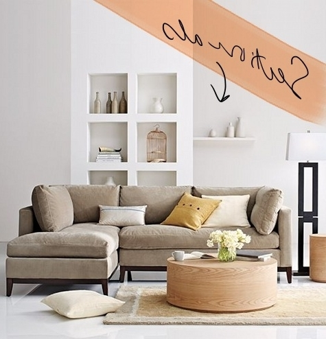 Our New Apt: The Hunt For The Perfect Sectional – Design*sponge Within Widely Used Apartment Sectional Sofas With Chaise (View 11 of 15)