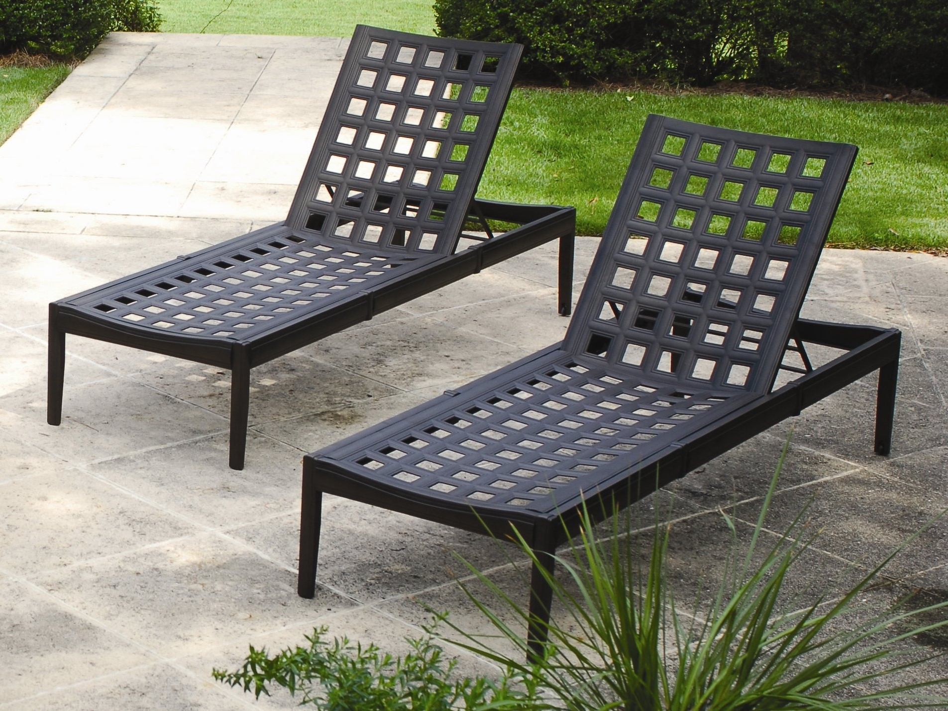 manor furniture hi cast hauser lounge stores collections loveseat chaise patios back outdoor aluminum for