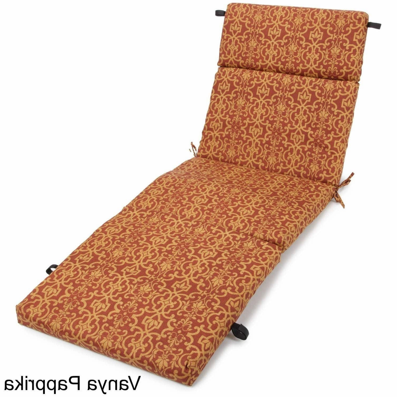 Outdoor Chaise Lounge Cushion – Free Shipping Today – Overstock Within Fashionable Chaise Lounge Cushions (View 12 of 15)