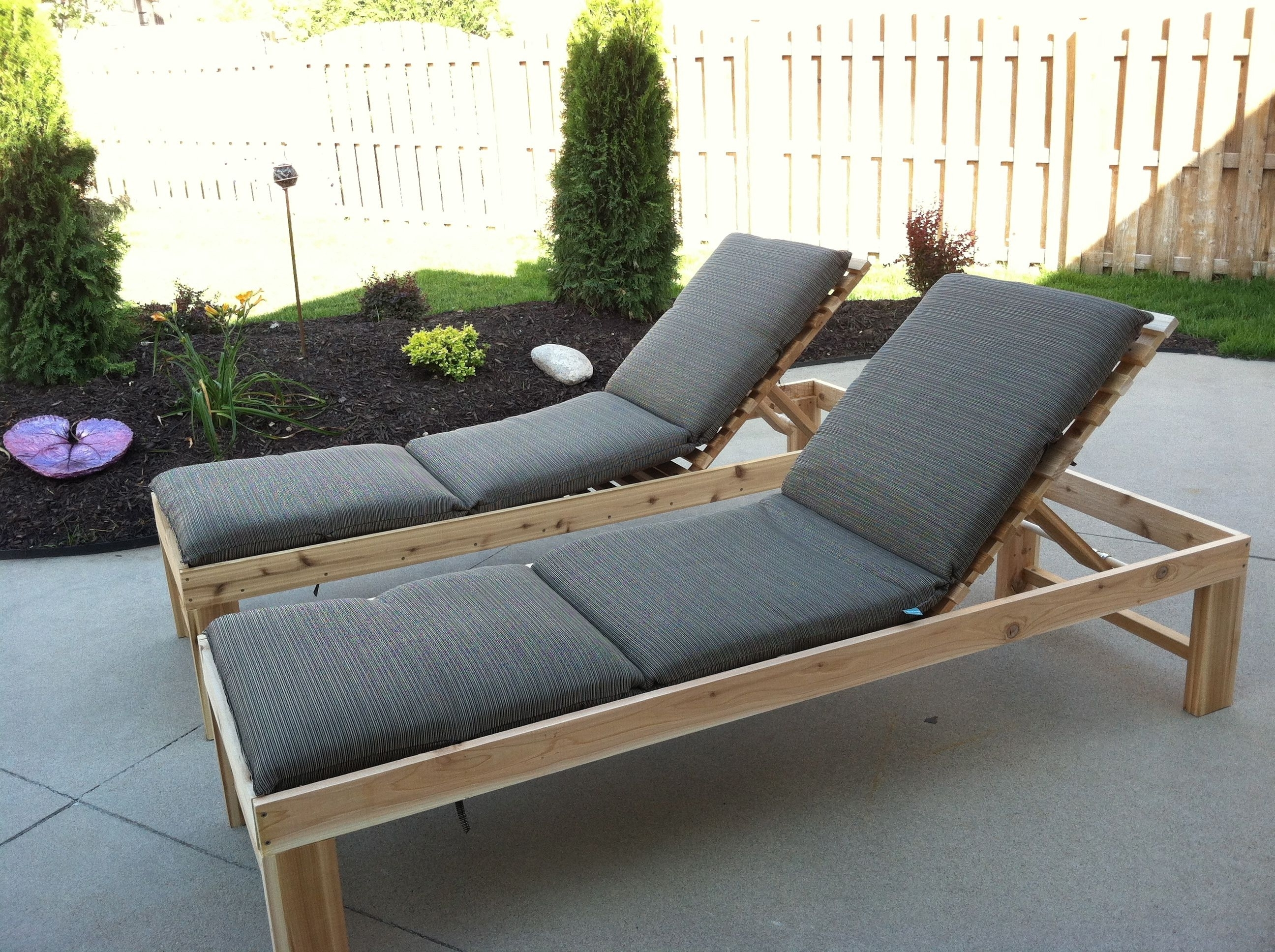 Outdoor Chaise Lounge With Ergonomic Seating Settings – Traba Homes In Latest Outdoor Lounge Chaises (View 8 of 15)