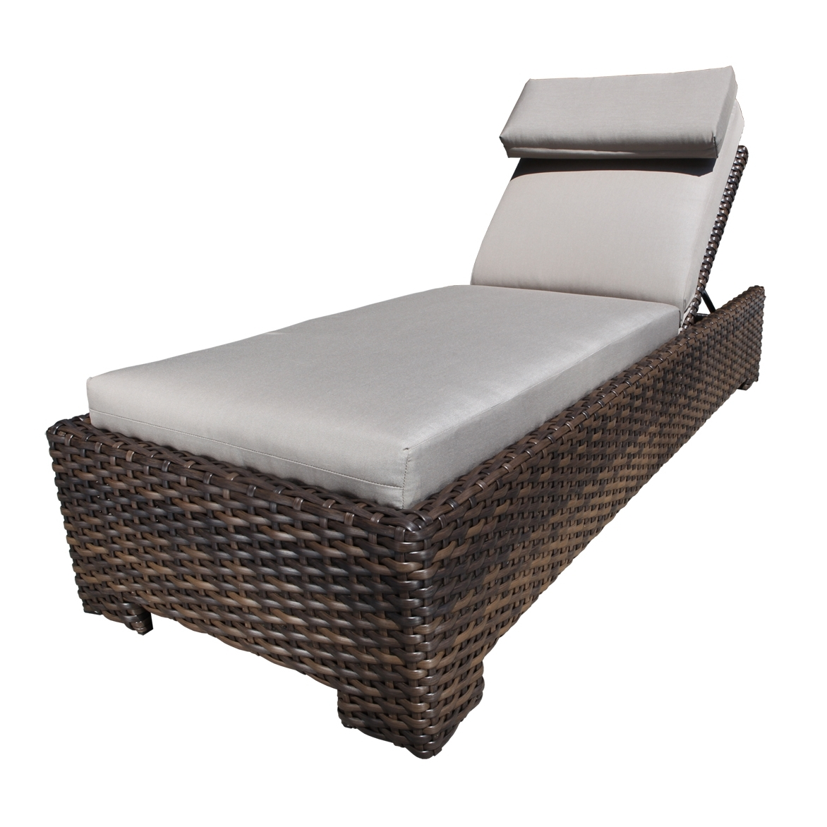 Outdoor Chaises With Regard To Best And Newest Patio Furniture Lounge Chair • Lounge Chairs Ideas (View 14 of 15)