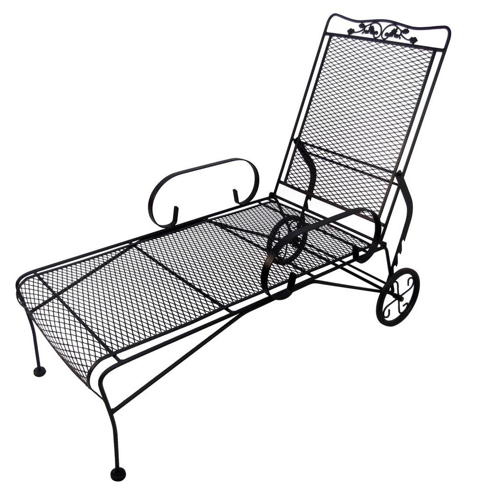 Outdoor Folding Chaise Lounges In Most Up To Date Outdoor : Lowes Outdoor Double Chaise Lounge Costco Patio (View 7 of 15)