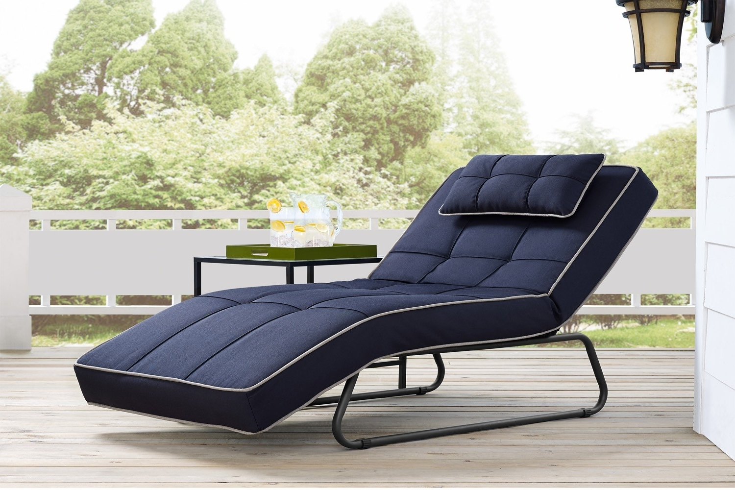 Outdoor Futon Chaise Bayshore (View 3 of 15)