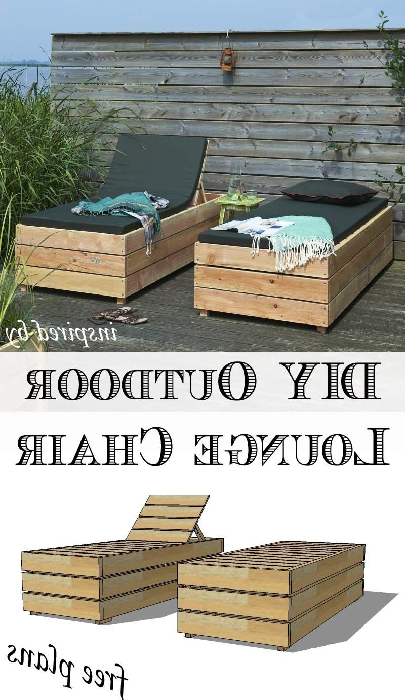 Outdoor Lounge For Diy Outdoor Chaise Lounge Chairs (View 11 of 15)