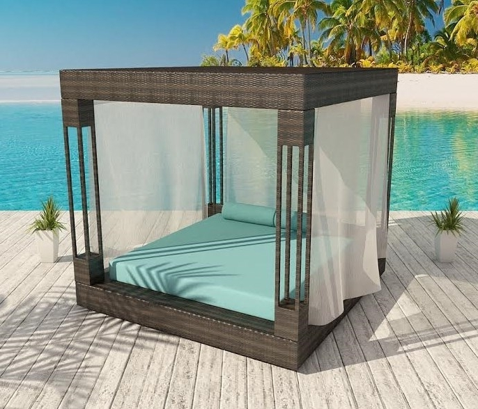 Outdoor Sofas With Canopy With Preferred Resort Collection Patio Furniture Euphoria Canopy (View 10 of 10)