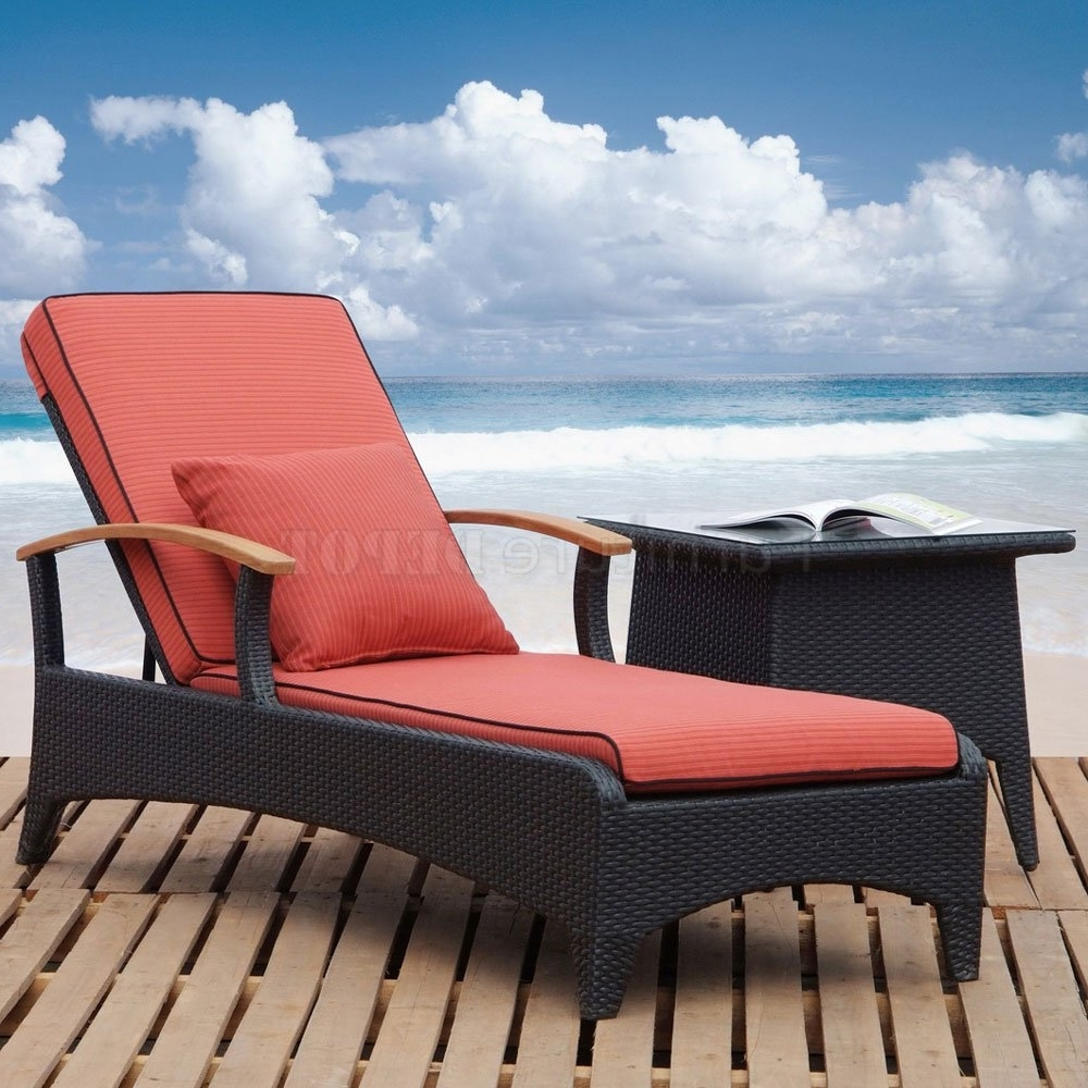 Outdoor : Vinyl Strap Chaise Lounge Outdoor Furniture Plastic In Well Liked Outdoor Pool Chaise Lounge Chairs (View 9 of 15)