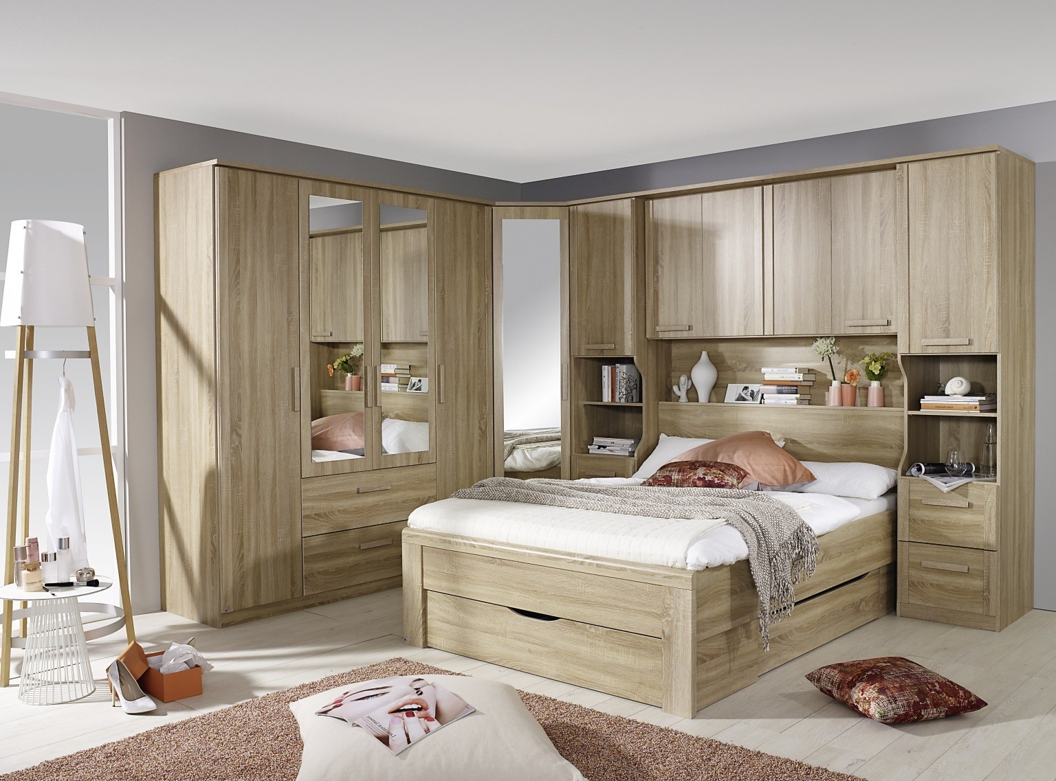 Over Bed Storage Units – Simplybedrooms Inside Well Known Over Bed Wardrobes Units (View 8 of 15)