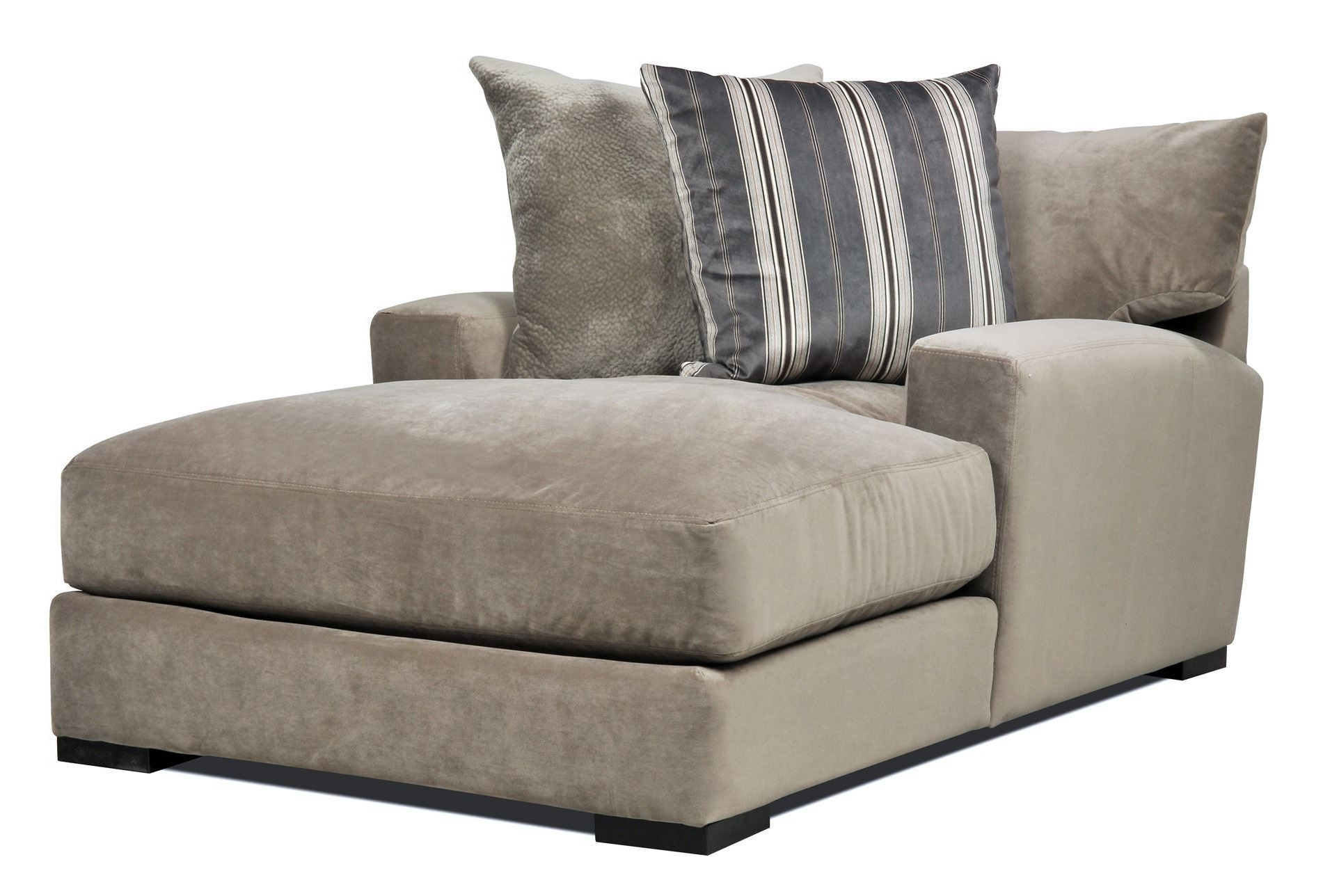 Oversized Chaise Lounges Pertaining To Favorite Furniture: One Arm Loveseat New Home Design Clubmona Wonderful (View 3 of 15)