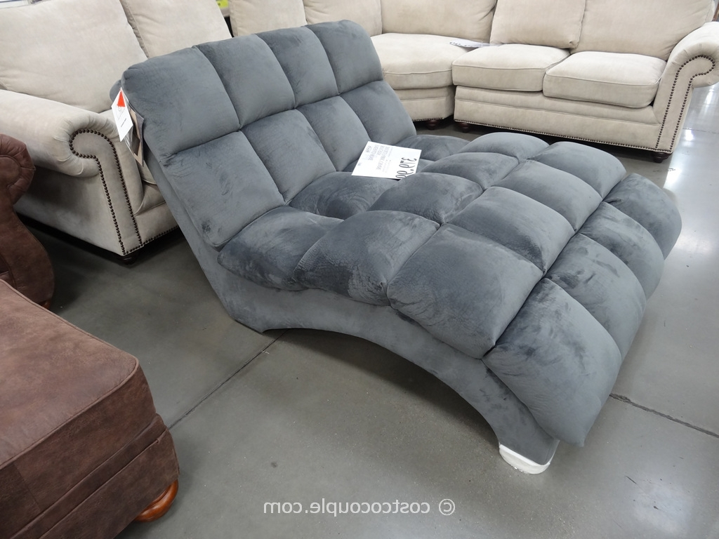 Oversized Indoor Chaise Lounges Within Well Known Decor: Extravagant Double Oversized Chaise Lounge Indoor Cheap In (View 11 of 15)
