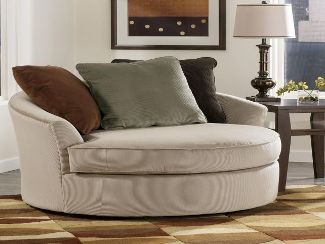 Oversized Lounge Oval Chair (View 6 of 10)