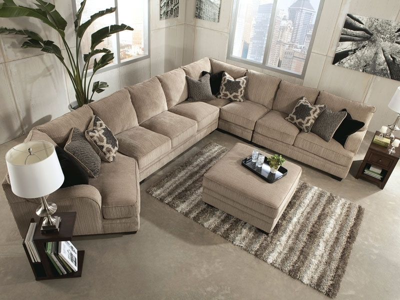 Oversized Sectional Sofas With Regard To 2017 Sofa : Magnificent Large Sectional Sofa With Chaise Reclining (View 5 of 10)