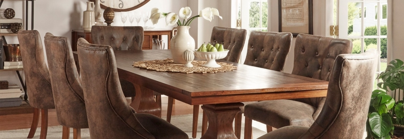 Overstock Intended For Sofa Chairs With Dining Table (View 3 of 10)