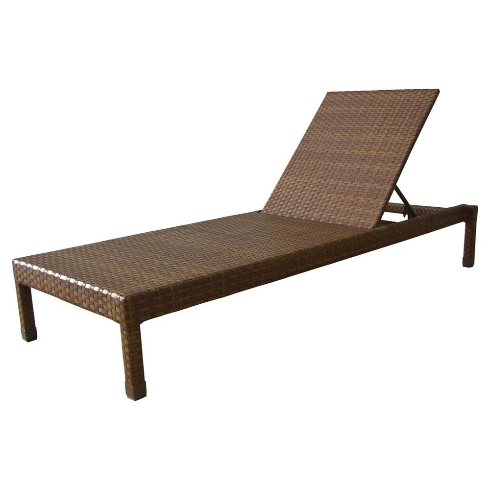 Panama Jack St Barths Wicker Chaise Lounge – Wicker For Most Popular Outdoor Wicker Chaise Lounges (View 15 of 15)