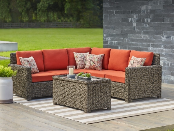 Patio Furniture – The Home Depot With Regard To 2017 Patio Sofas (View 7 of 10)