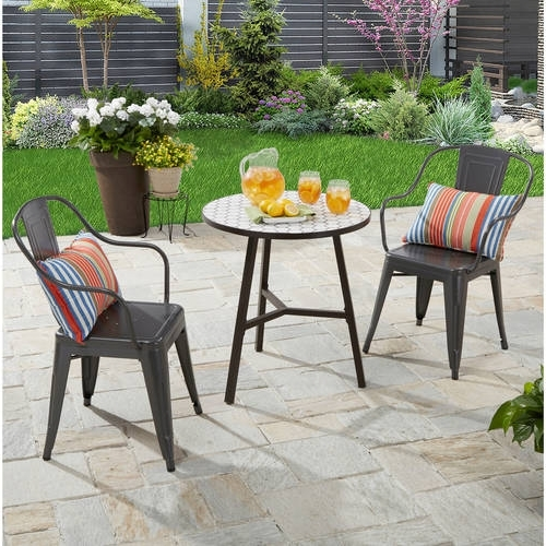 Patio Furniture – Walmart Pertaining To Most Up To Date Outdoor Sofas And Chairs (View 5 of 10)