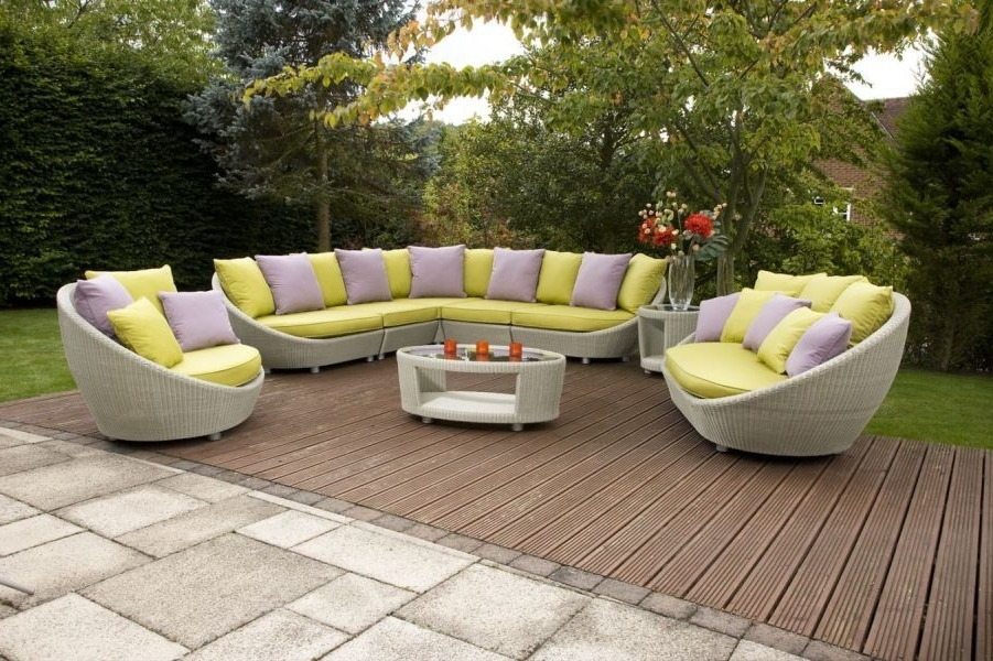 Patio Sofas For Famous Waterproof Patio Furniture Derby And Burton (View 2 of 10)