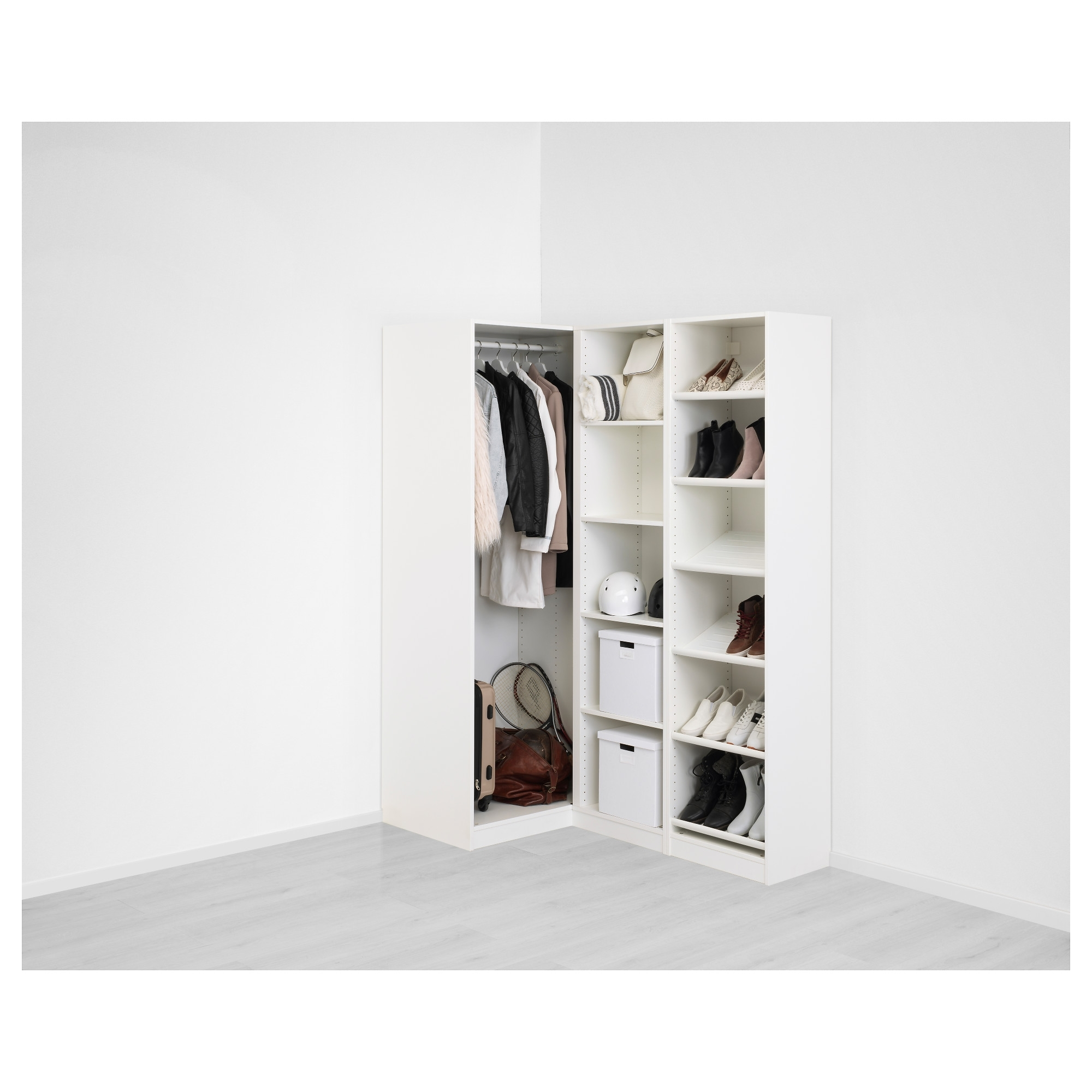 Pax Corner Wardrobe – 160/88X236 Cm – Ikea With Regard To Recent White Corner Wardrobes Units (View 9 of 15)