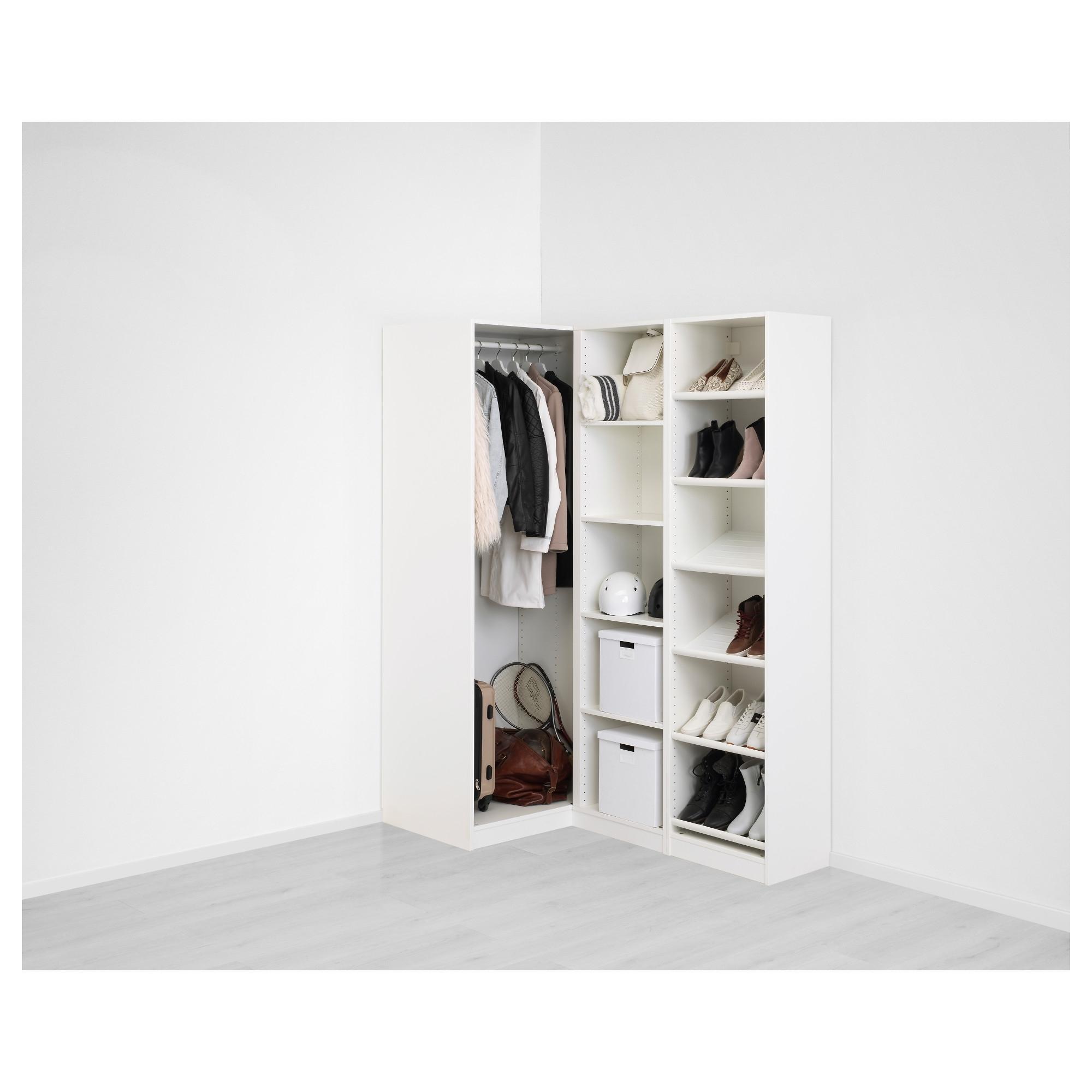 Pax Corner Wardrobe – 160/88x236 Cm – Ikea With Regard To Recent White Corner Wardrobes Units (View 12 of 15)