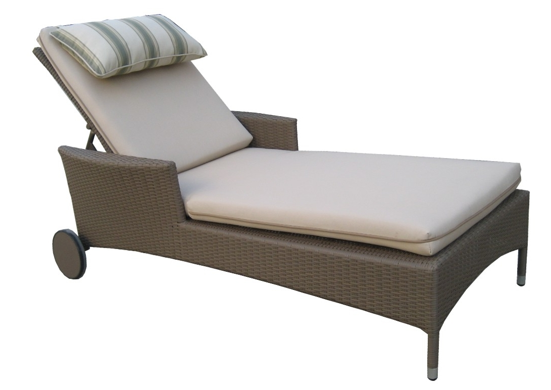 Perfect Outdoor Chaise Lounge Chairs : Best Outdoor Chaise Lounge Inside Most Recently Released Beach Chaise Lounge Chairs (View 8 of 15)
