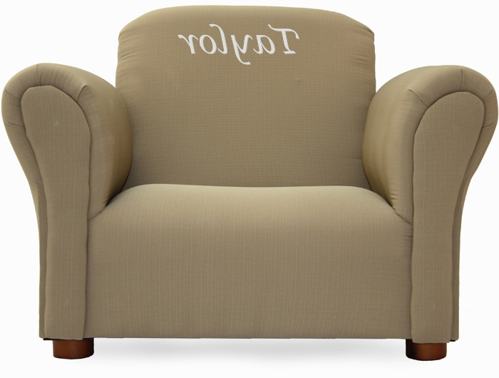 Personalized Kids Chairs And Sofas In Most Current Best Sofa For Kids And Personalized Kids Chair Or Kids Sofa (View 2 of 10)