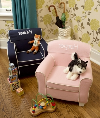 Personalized Kids Chairs And Sofas Pertaining To Fashionable Kidkraft Laguna Club Chair (View 7 of 10)