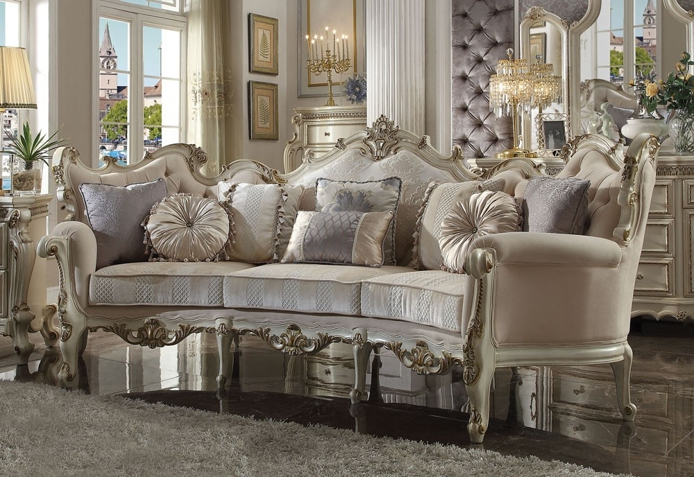 Picasso French Style Oversized Sofa Inside Favorite French Style Sofas (View 8 of 10)