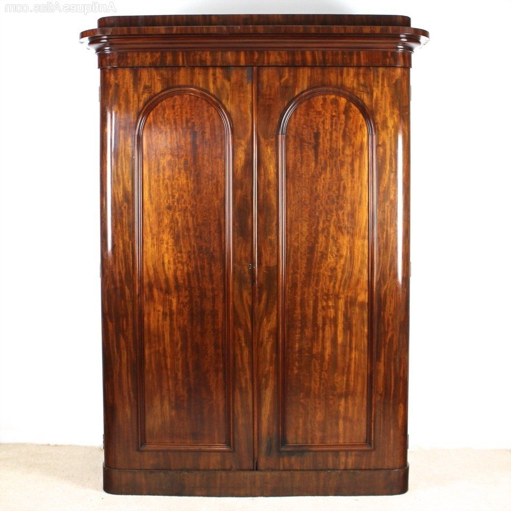 Picture Of Victorian Mahogany Wardrobewylie & Lochhead Inside Widely Used Victorian Wardrobes For Sale (View 7 of 15)