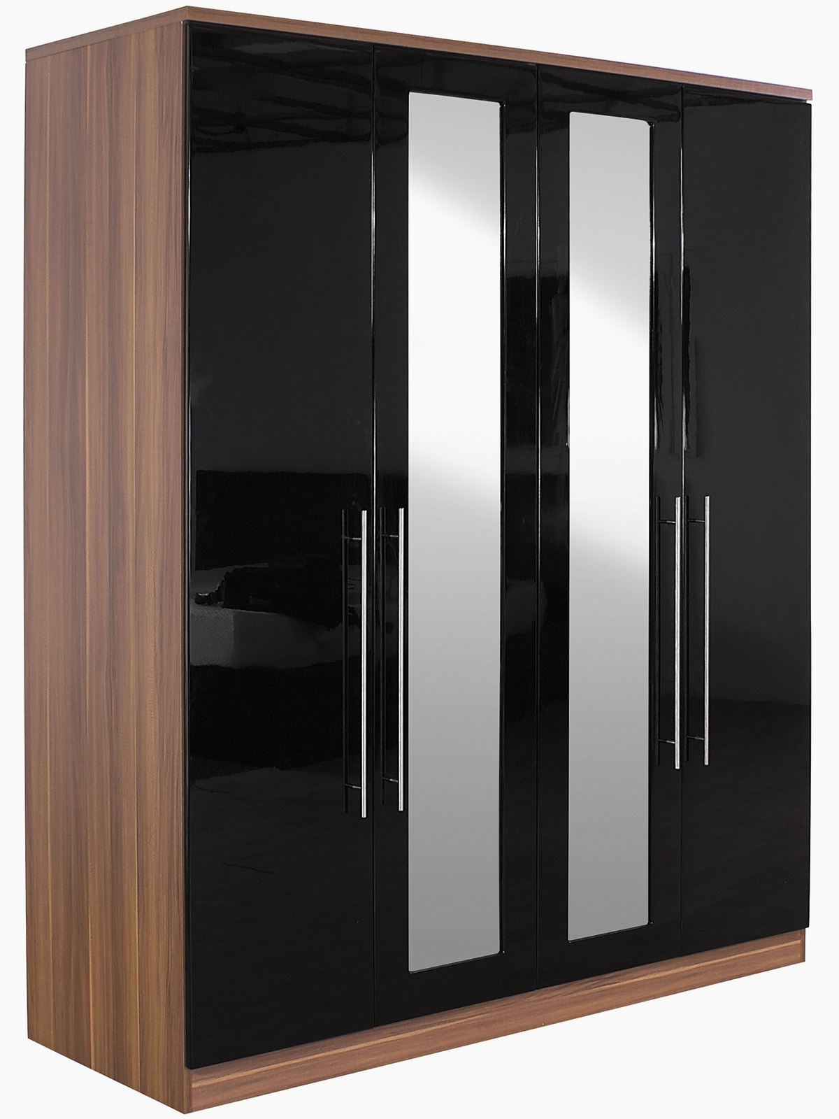 Pink High Gloss Wardrobes Intended For Most Current Black High Gloss Wardrobes Sliding Wardrobe Pink Cheap That Can (View 11 of 15)