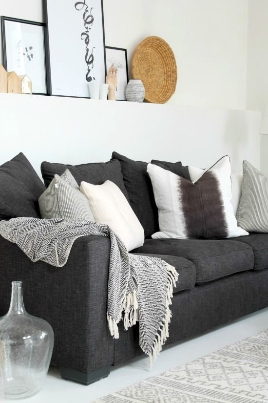 Pinterest Within Charcoal Grey Sofas (View 9 of 10)