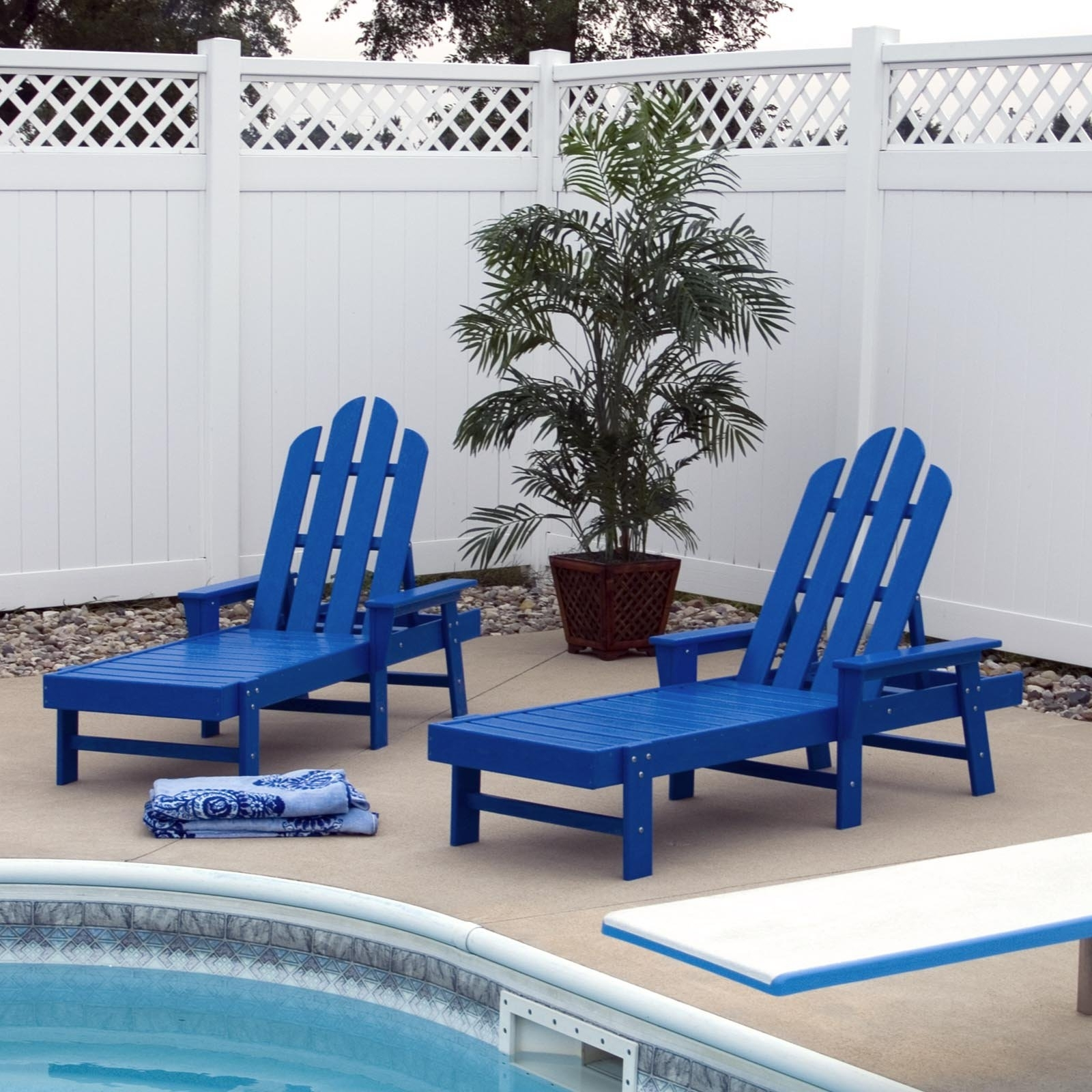 Polywood® Long Island Recycled Plastic Chaise Lounge – Walmart Throughout Preferred Plastic Chaise Lounges (View 12 of 15)