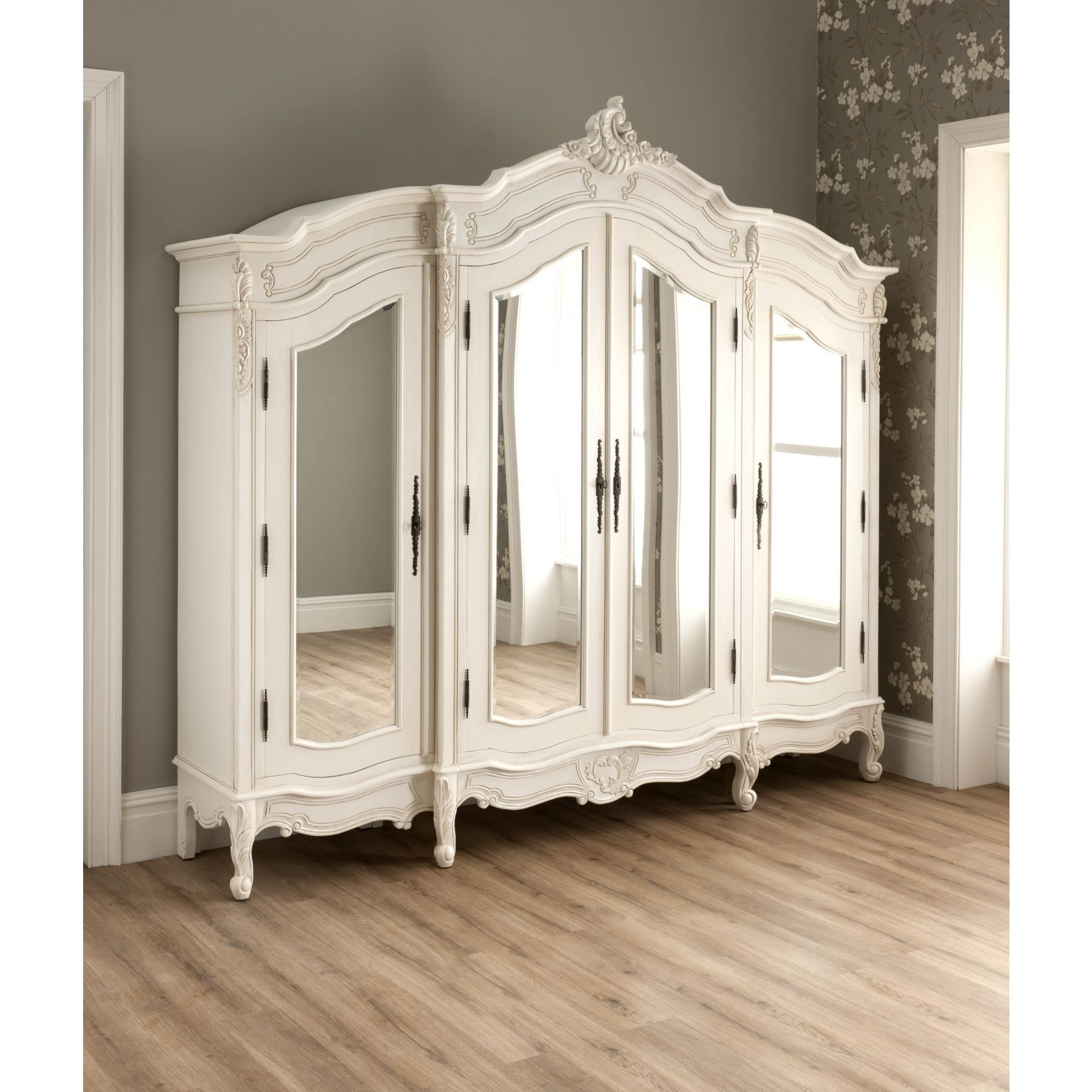 Popular Armoire French Wardrobes Pertaining To Antique French Furniture (View 12 of 15)