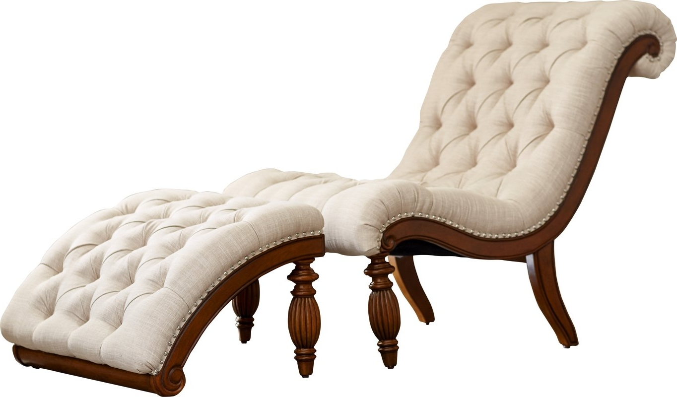 Popular Atlanta Chaise Lounge Chairs With Lark Manor Celya Chaise Lounge And Ottoman Set & Reviews (View 12 of 15)