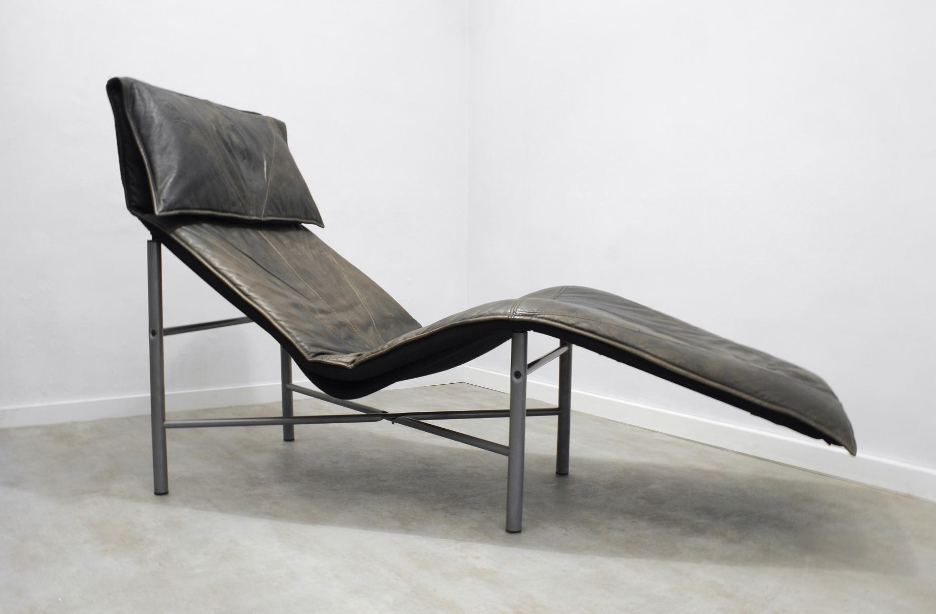 Popular Brown Leather Skye Chaise Loungetord Björklund For Ikea, 1980S For Ikea Chaise Lounges (View 13 of 15)