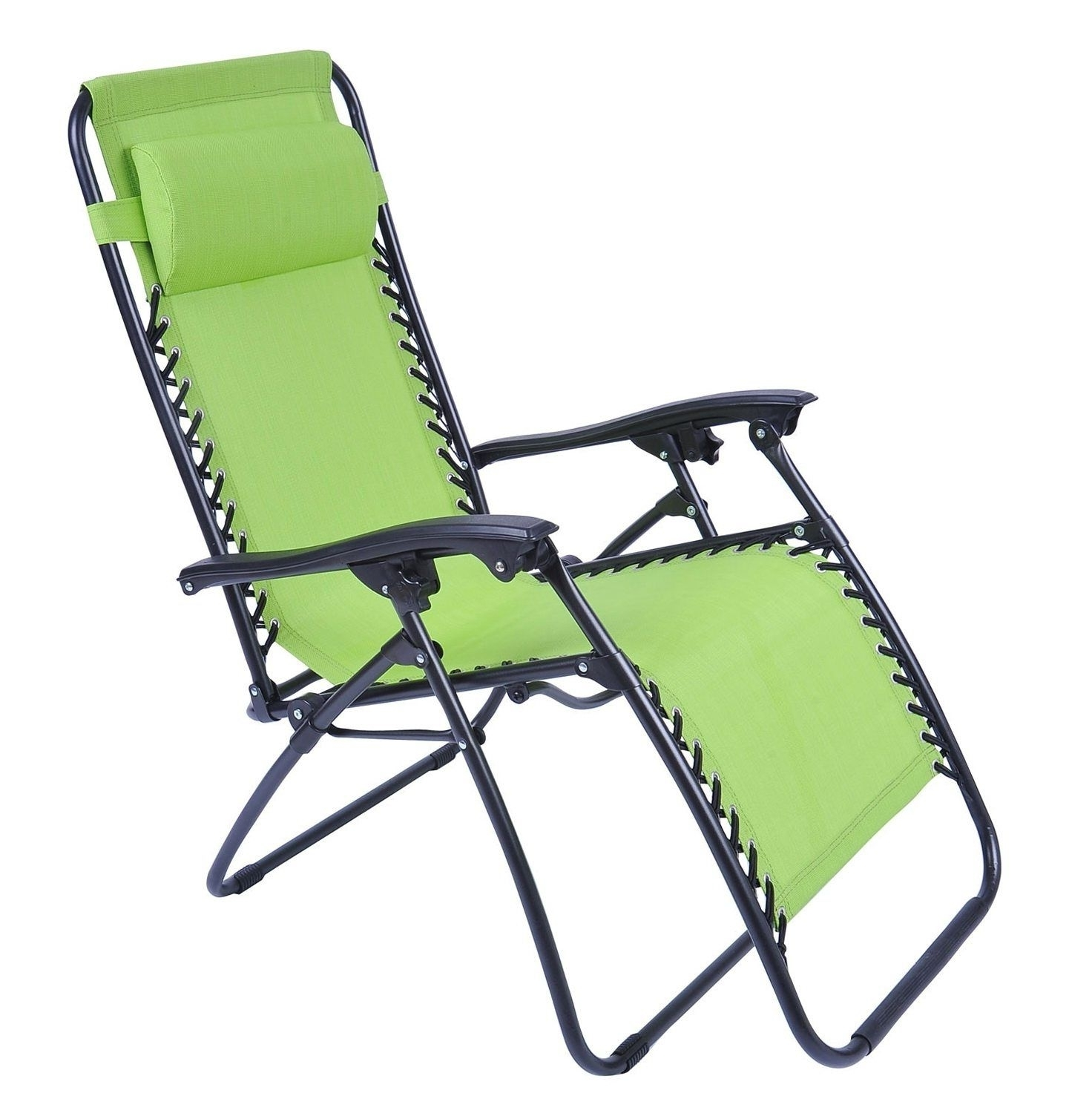 Popular Chaise Lounge Reclining Chairs For Outdoor Throughout Lounge Chair Outdoor Folding Folding Chaise Lounge Chair Patio (View 11 of 15)