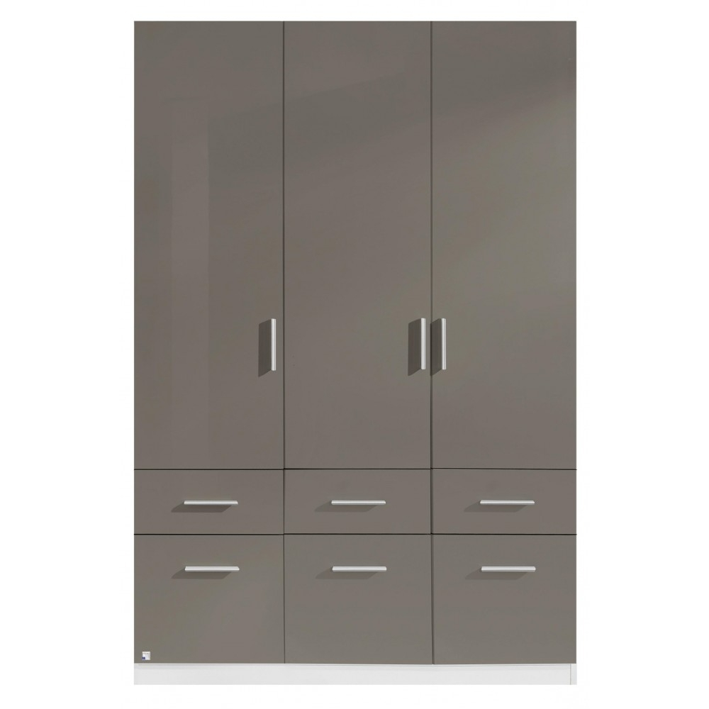 Popular Cheap 3 Door Wardrobes For High Gloss Bedroom Wardrobes And Furniture On Sale (View 7 of 15)