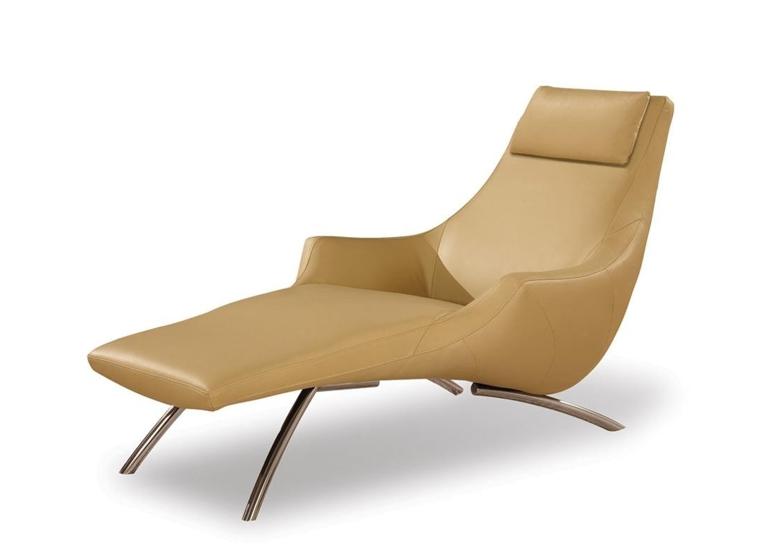 Popular Contemporary Chaise Lounge Chairs Inside Fresh Contemporary Chaise Lounge Indoor # (View 2 of 15)