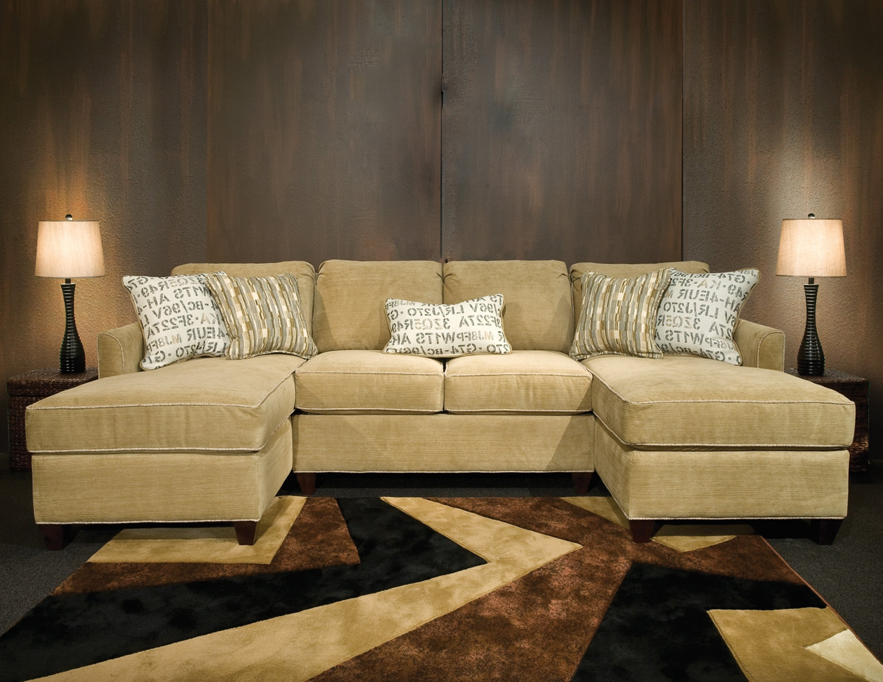 Popular Double Chaise Sofas In Double Chaise Lounge Sofa 15 In Sofas And Couches Ideas Regarding (View 11 of 15)