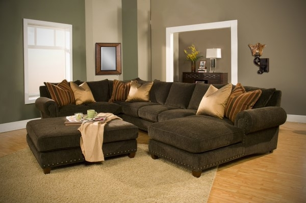 Popular Down Filled Sectional Sofas For Sectional Sofa Design: Simple Down Sectional Sofa Down Cushions (View 6 of 10)