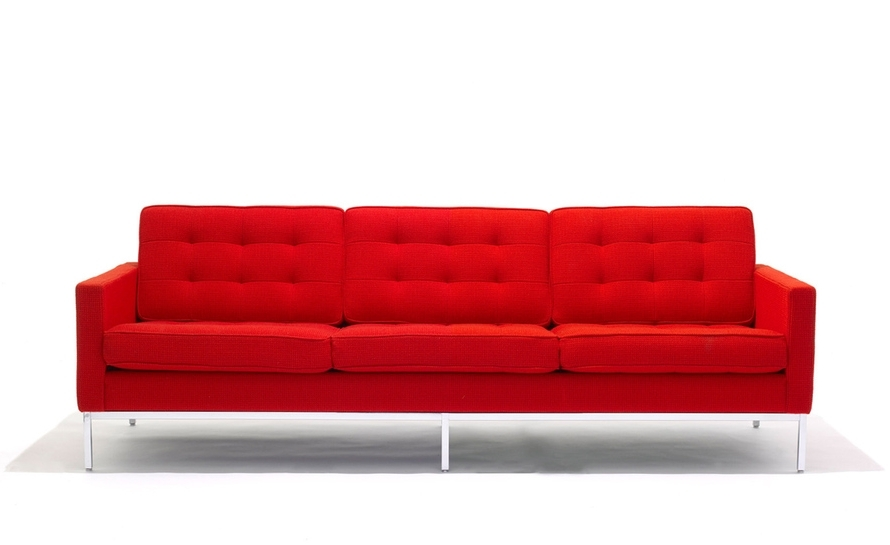 Popular Florence Knoll 3 Seat Sofa – Hivemodern Intended For Florence Sofas (View 7 of 10)