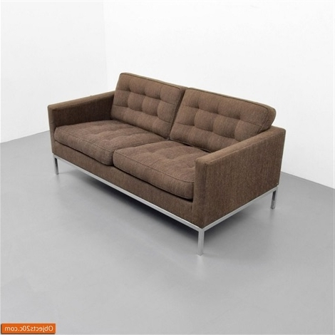 Popular Florence Medium Sofas For Sofa Loveseatflorence Knoll On Artnet (View 9 of 10)