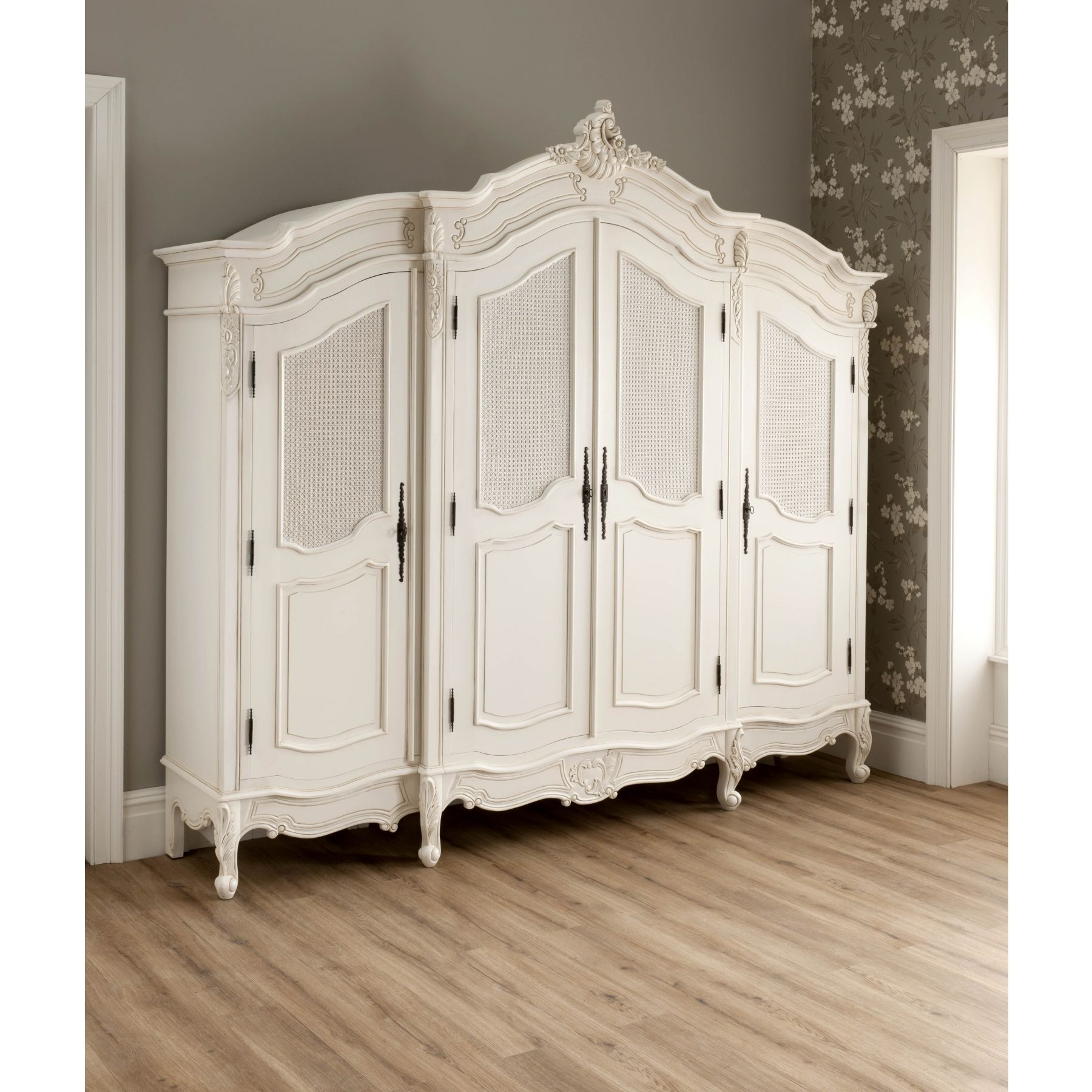 Popular French Style Fitted Wardrobes With La Rochelle Bundle Deal #3 – Bedroom From Homesdirect 365 Uk (View 12 of 15)