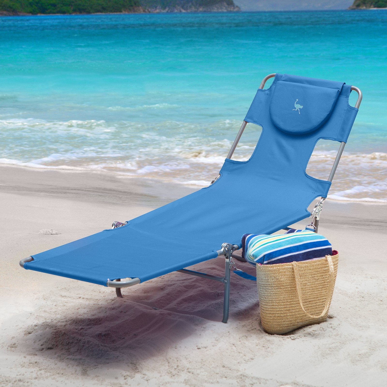 Popular Heavy Duty Chaise Lounge Chairs Within Ostrich Folding Chaise Lounge – Walmart (View 14 of 15)