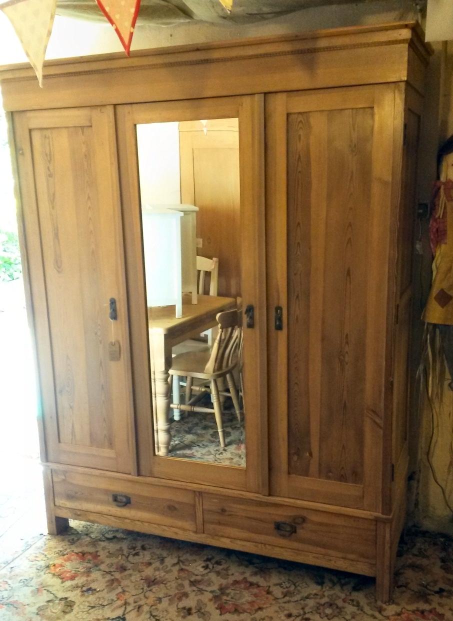 Popular Hotwells Pine – Antique Pine Furniture Regarding Victorian Pine Wardrobes (View 6 of 15)