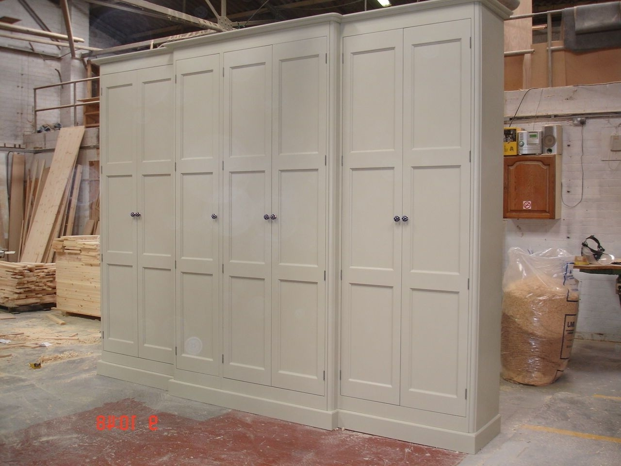 Popular Large Shabby Chic Wardrobes Throughout Painted Tall  (View 10 of 15)