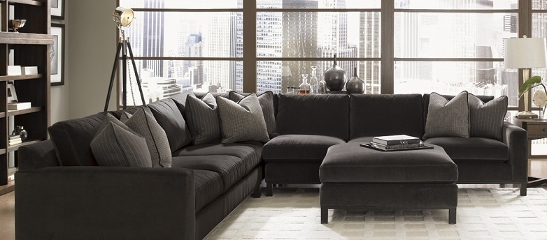 Popular Sectional Sofa Design: Wonderful Down Feather Sectional Sofa Intended For Down Sectional Sofas (View 7 of 10)