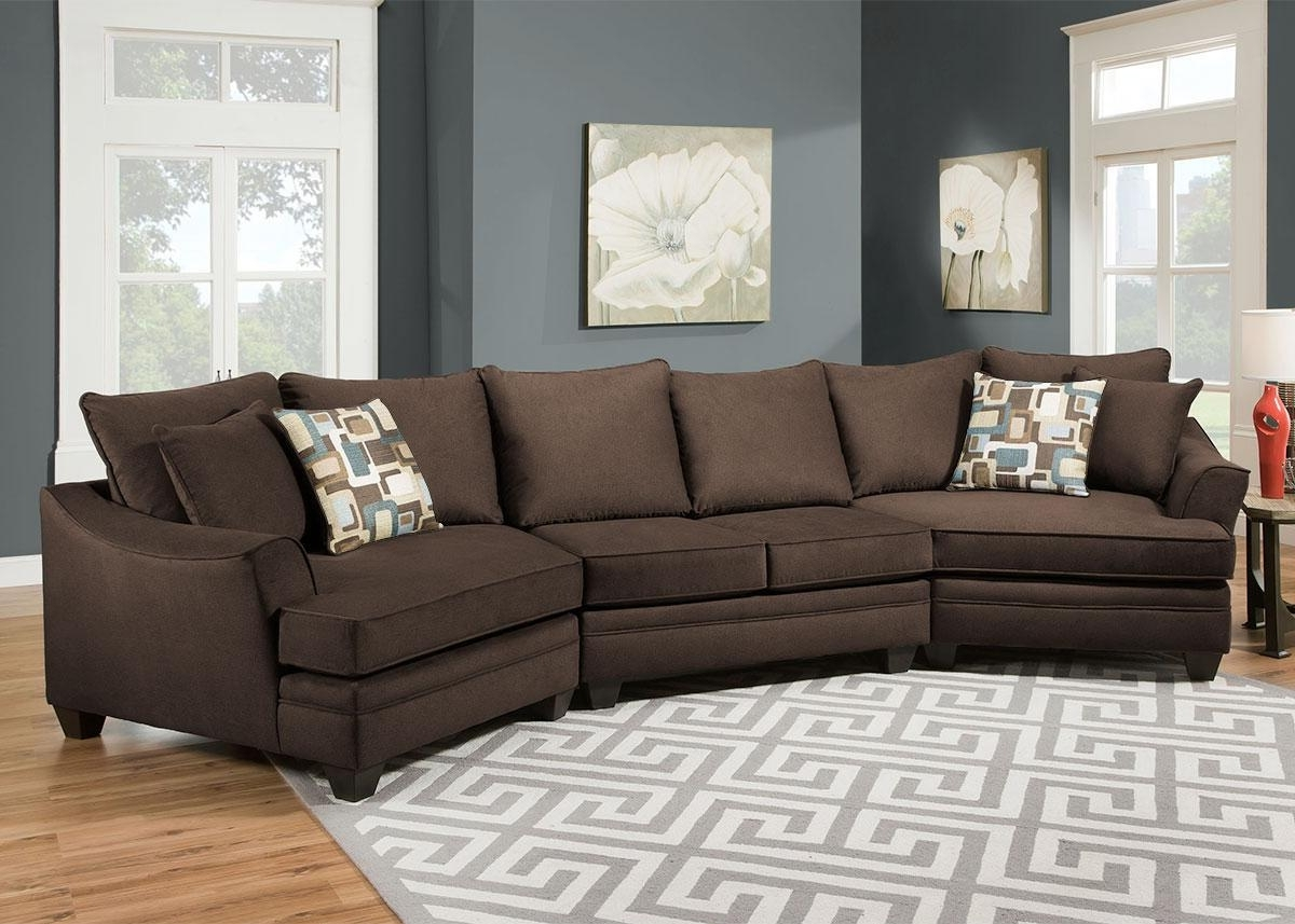 Popular Sectional Sofas With Cuddler Chaise Within Remarkable Sectional Sofa With Cuddler Chaise 72 For Your Chenille (View 8 of 15)